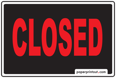 Open And Closed Signs Download A Free Printable Sign