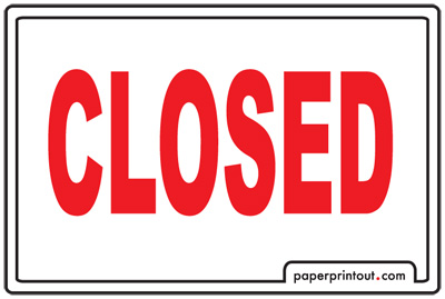 Open and closed signs download a free printable sign for Open closed sign template