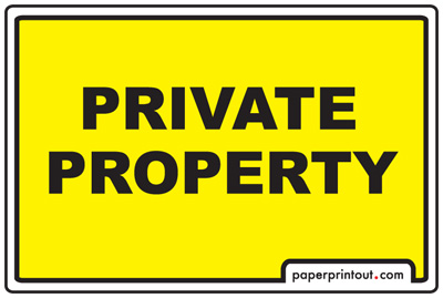 graphic relating to Printable No Trespassing Sign referred to as Personalized Household Indications - Obtain a Totally free Printable Indication