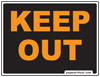 Free Keep Out Sign